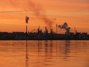 Oil Refinery in Nova Scotia, from Flickr user Iguanasan, licensed via Creative Commons