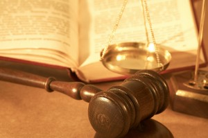 "Gavel and scales, by Flickr user ""s_falkow"", licensed via Creative Commons"