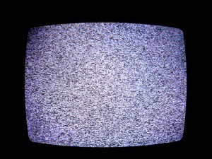 "Television static, by Flickr user ""theogeo"", licensed via Creative Commons."
