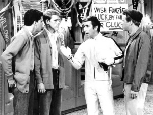 Uncopyrighted publicity photo from Happy Days
