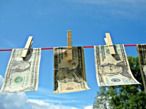 "Money Laundering, by Flickr user ""Images_Of_Money"", licensed via Creative Commons."