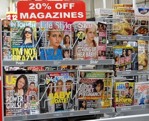 "Tabloids, by Flickr user ""mtsofan"", licensed via Creative Commons."