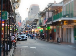 Bourbon Street Dream by flickr user kcdsTM, licensed by Creative Commons