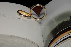 Wedding rings and heart shade by Flickr user filippo.salamone, licensed by Creative Commons