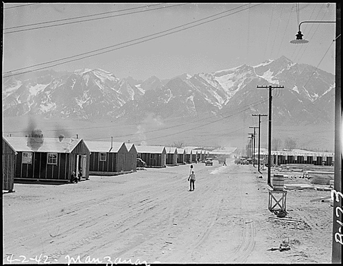 Conditions of the Internment Camps by Flickr User spaz_writer999 Licensed Under Creative Commons