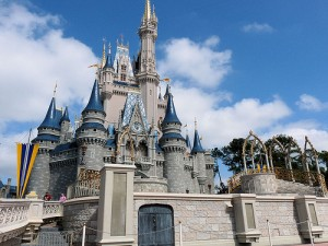 Disney World Trip - Magic Kingdom - Cinderella's Castle by Flickr user RichardStep.com, licensed by Creative Commons