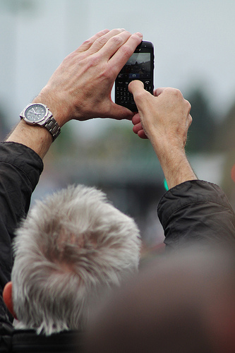 Camera-'phone by Flickr user GlasgowAmateur, licensed by Creative Commons