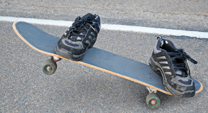 Invisible Skateboarder by Flickr User Photo Extremist Licensed Under Creative Commons
