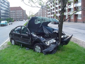 Car Crash by Thue Licensed Under WikiCommons