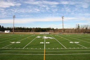 Football field, by flickr user nightthree, licensed by Creative Commons