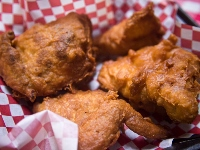 Fat Casual - Smoked Fried Chicken, by flickr user Edsel L, licensed by Creative Commons.