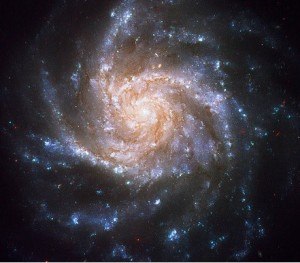 Spiral Galaxy NGC 1376, by flickr user Hubble Heritage, licensed by Creative Commons.