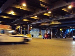 Lower Wacker Drive, by flickr user Paul Sableman, licensed by Creative Commons
