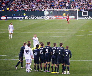 Penalty Kick, by flickr user Robert Francis, licensed by Creative Commons.